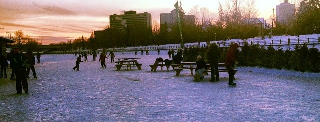 Rideau Canal Skateway is one of Ottawa.