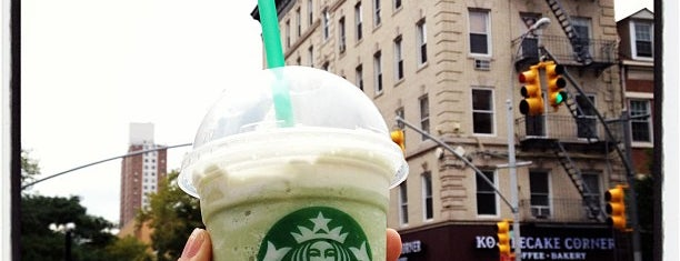 Starbucks is one of Fresh Brew Badge - New York Venues.