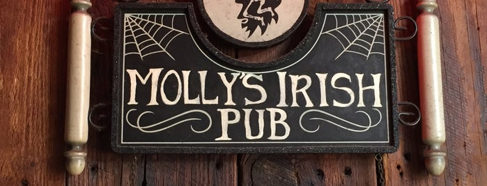 Molly's Irish Pub & Restaurant is one of Top picks for Dive Bars.