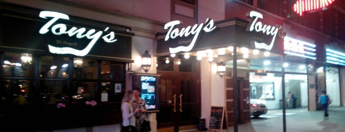 Tony's Di Napoli is one of New York.