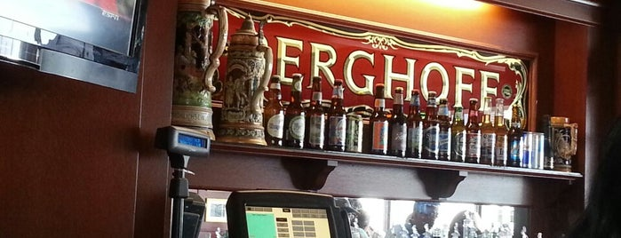 Berghoff Cafe is one of burrs.