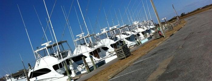 Favorite north carolina places for Oregon inlet fishing center