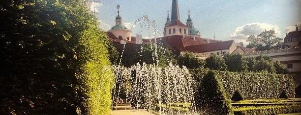 Wallenstein Garden is one of Praga 3 Dias.