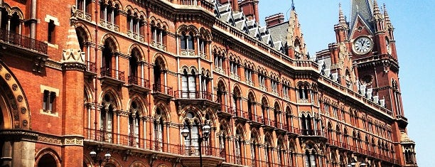 St Pancras Renaissance Hotel is one of London City Badge - London Calling.