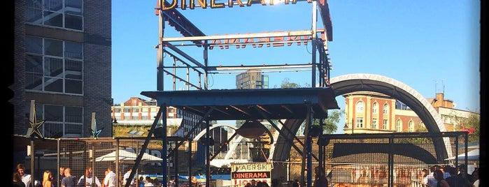 Dinerama / Street Feast Shoreditch is one of London.