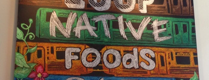 Native Foods is one of Chicago Vegetarian!.