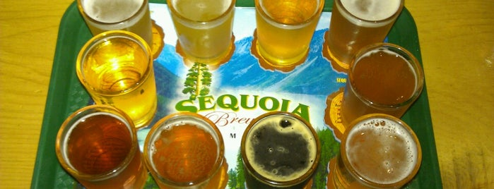 Sequoia Brewing Company is one of Your Mom.