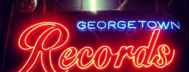 Georgetown Records is one of Record Stores To Remember.
