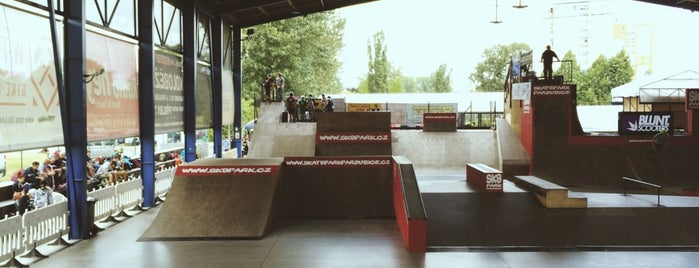 Skatepark is one of Brusle.