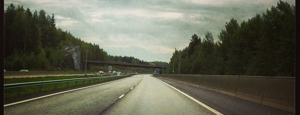 E18/VT7 Porvoon moottoritie is one of Moido.