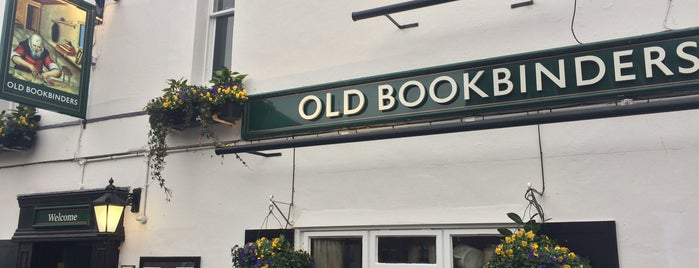 The Old Bookbinders is one of Pubs of Oxford.