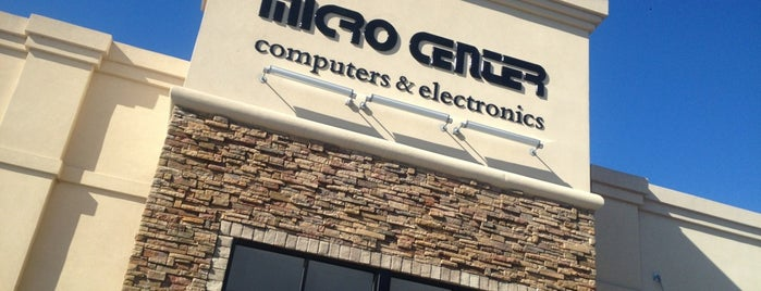 Micro Center is one of Places I End Up Frequently.