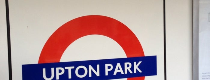 Upton Park London Underground Station is one of Tube Challenge.