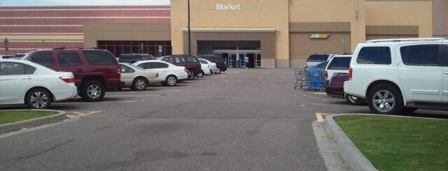 Walmart Supercenter is one of Common Places to Be.