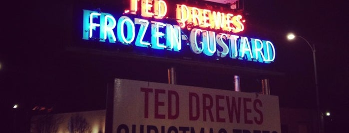 Ted Drewes Frozen Custard is one of The best things we ate in 2012.