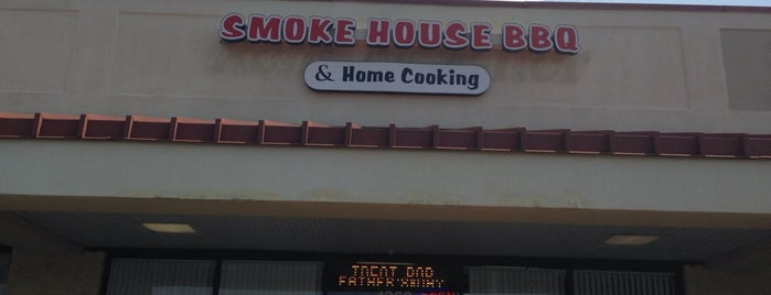 Smokehouse BBQ is one of South Carolina Barbecue Trail - Part 1.
