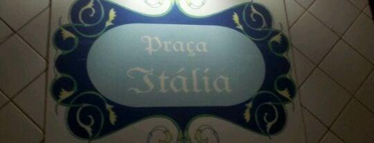 Praça Itália is one of Veja Comer & Beber ABC - 2012/2013 - Bares.