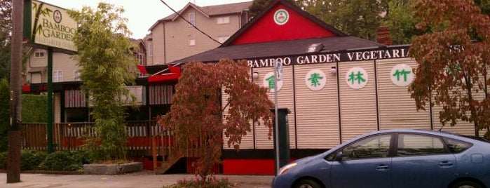 Bamboo Garden is one of Seattle spots.
