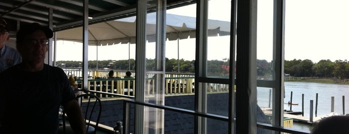 Morgan Creek Grille is one of my charleston places.