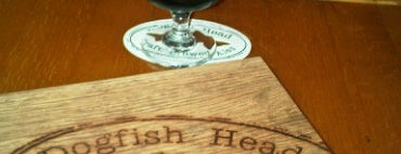 Dogfish Head Brewings & Eats is one of Wednesday bar crawl.