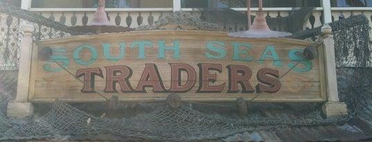 South Seas Traders is one of Disneyland Shops.