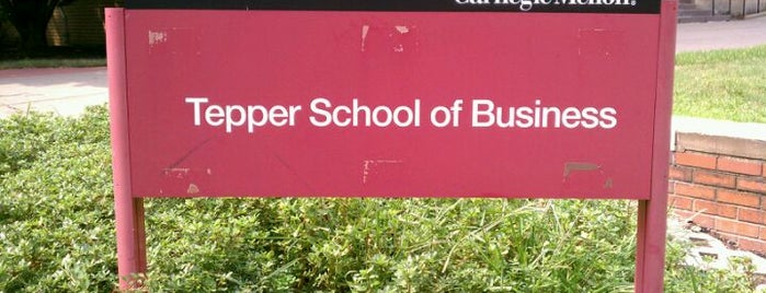 Tepper School of Business is one of Destination: Pittsburgh.