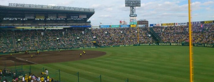 Hanshin Koshien Stadium is one of 読売巨人軍.