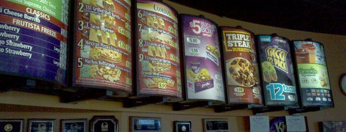 Taco Bell is one of Tiffin Hot Spots.