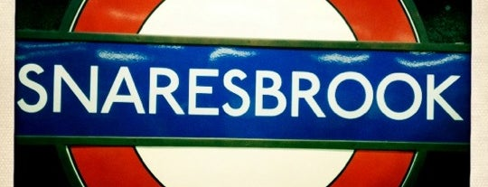 Snaresbrook London Underground Station is one of Tube Challenge.