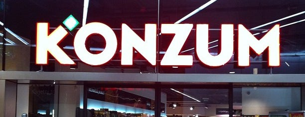 Super Konzum is one of Places to visit in Zagreb.