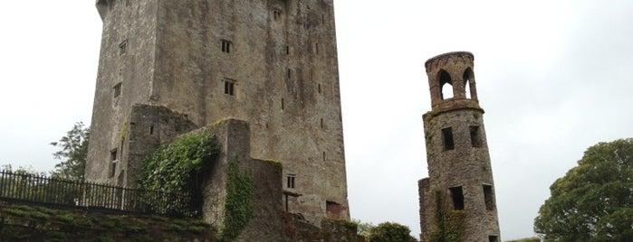 Blarney Castle is one of Ireland.