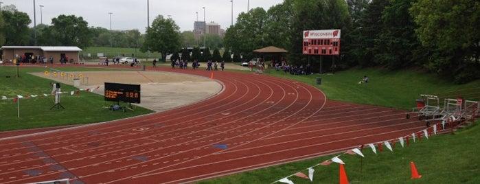 Dan McClimon Memorial Track/Soccer Complex is one of Athletics.