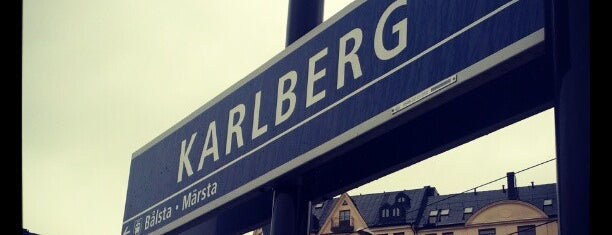 Karlberg (J) is one of SE - Sthlm - Pendeltåg.