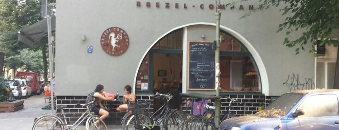 Brezel Company is one of Berlin eats.