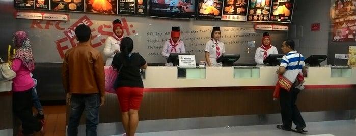 KFC is one of Bekasi.