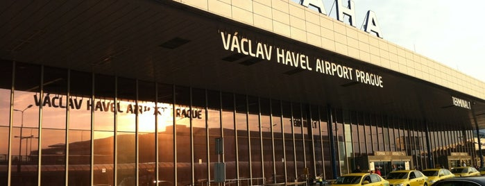 Flughafen Prag Václav Havel (PRG) is one of Airports been to.