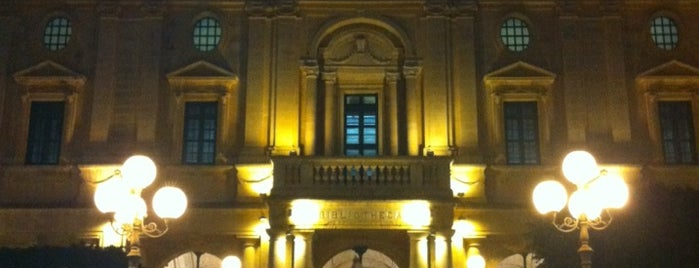 National Library is one of Malta Cultural Spots.