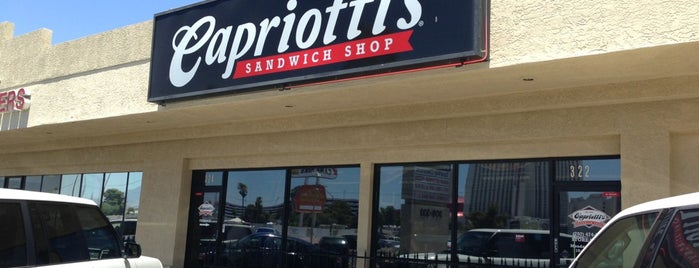 Capriotti's Sandwich Shop is one of Las Vegas City Guide.