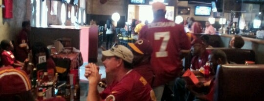 A-Game Restaurant & Bar is one of National Redskins Rally Bars.