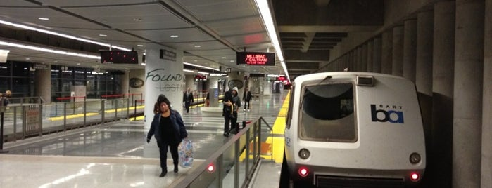 San Francisco International Airport BART Station is one of Travel Places.
