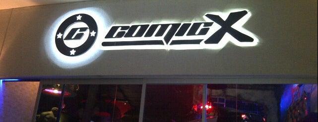 Comicx is one of Comida.