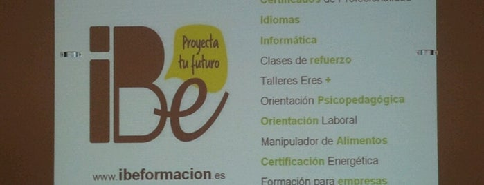 iBe Formación is one of lomejordebenimaclet.com.