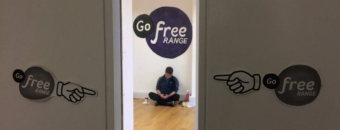 Go Free Range HQ is one of Silicon Roundabout / Tech City London (Open List).