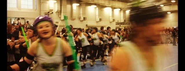 Naptown Roller Girls is one of My favorites for Stadiums.