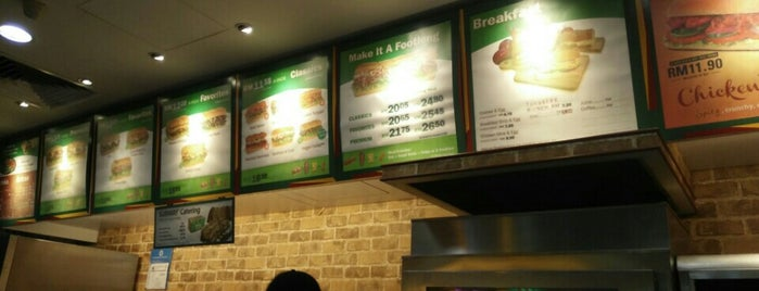 Subway is one of F&B.