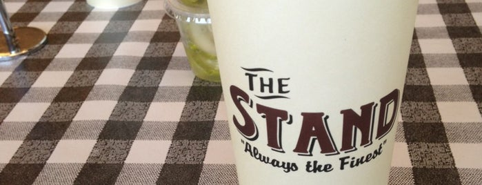 The Stand is one of LA's Best Hamburgers.