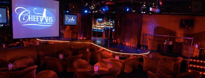 Cheetahs Gentlemen's Club & Restaurant is one of I been here !.