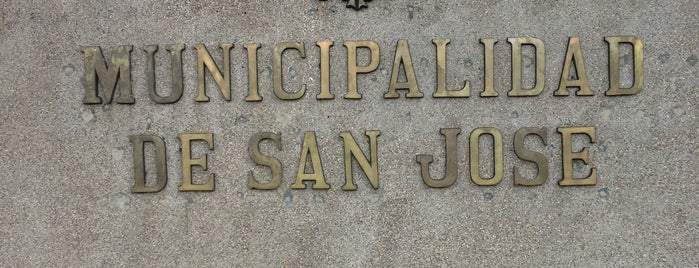 Municipalidad de San José is one of SAN JOSE CR.