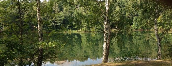 Vodní nádrž Oprám is one of Doly, lomy, jeskyně (CZ).