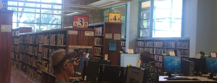 Waikiki-Kapahulu Public Library is one of Favorites, Waikiki.